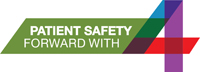 Patient Safety Forward with 4 logo